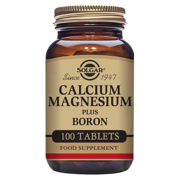 Solgar Calcium Magnesium boron 100 tablettia