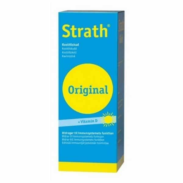 Strath Original Yrttihiivavalmiste + D-vitamiini 250ml