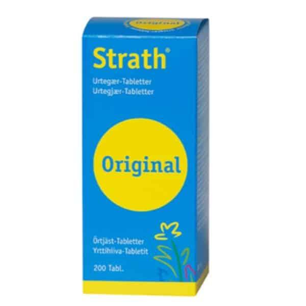Strath Yrttitabletti 200 tabl.