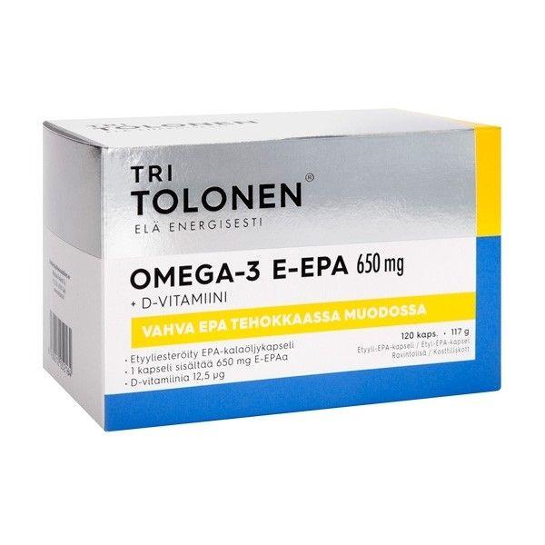 Tri Tolosen E-EPA 650mg 60 kaps - Midsona