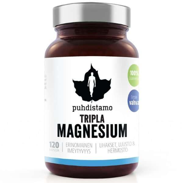 Tripla magnesium 120 kaps.
