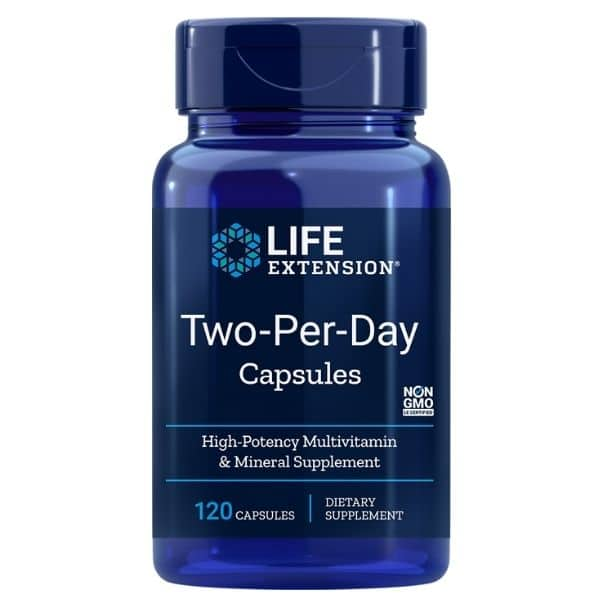 Two per day caps 120 kaps - Life extension