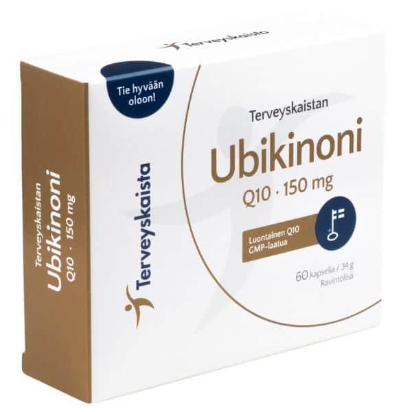 Ubikinoni Q10 150 mg 60 kaps - Terveyskaista