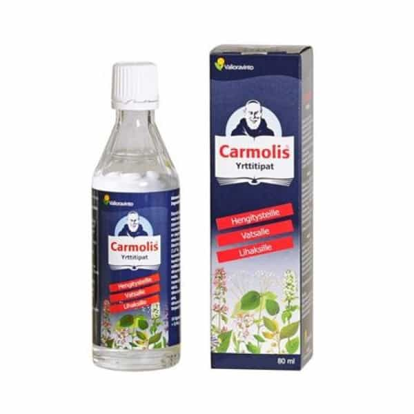 Carmolis Yrttitipat 80 ml - Bertil`s Health