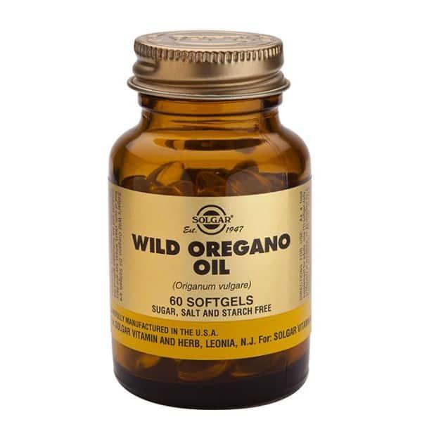 Wild Oregano Oil (oreganoöljy) 60 softgels Solgar