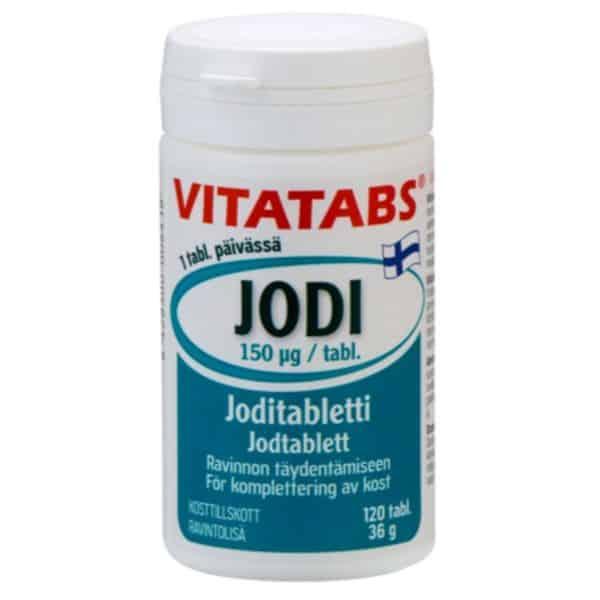 Vitatabs Jodi 150 ug 120 tabl
