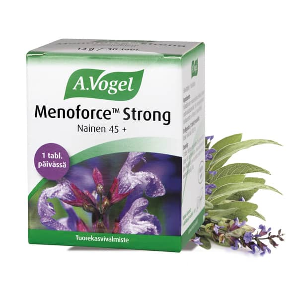 Menoforce Strong salviatabletti 30 tabl - Vogel