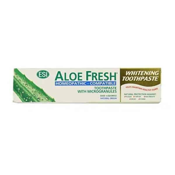 Aloe Fresh hammastahna 100ml homeopaattisesti yhteensopiva