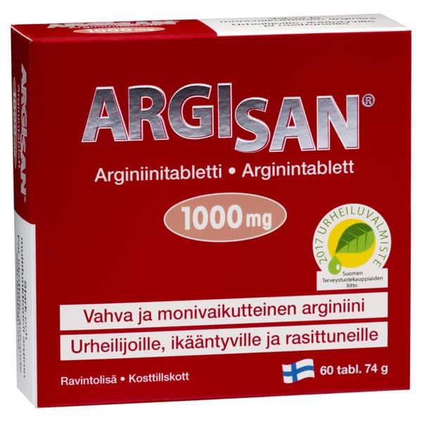 Argisan 1000 mg 60 tabl - Hankintatukku