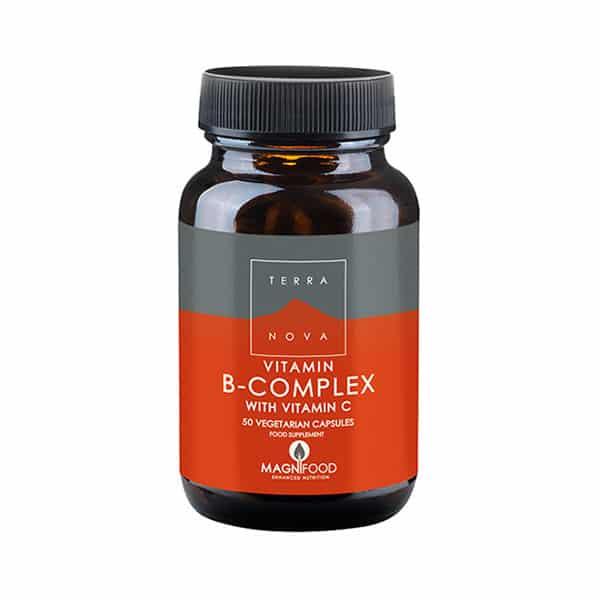 B-Complex + Vitamin C 50 kaps - Terranova