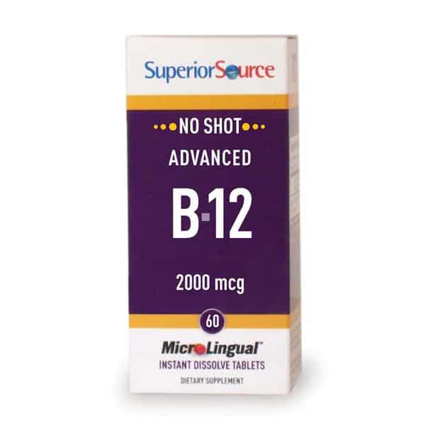 Advanced B12 2000ug