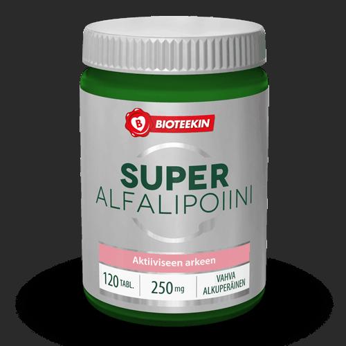 Super Alfalipoiini 120 tabl - Bioteekki