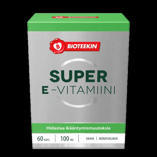 Super E- vitamiini 60 kaps - Bioteekki