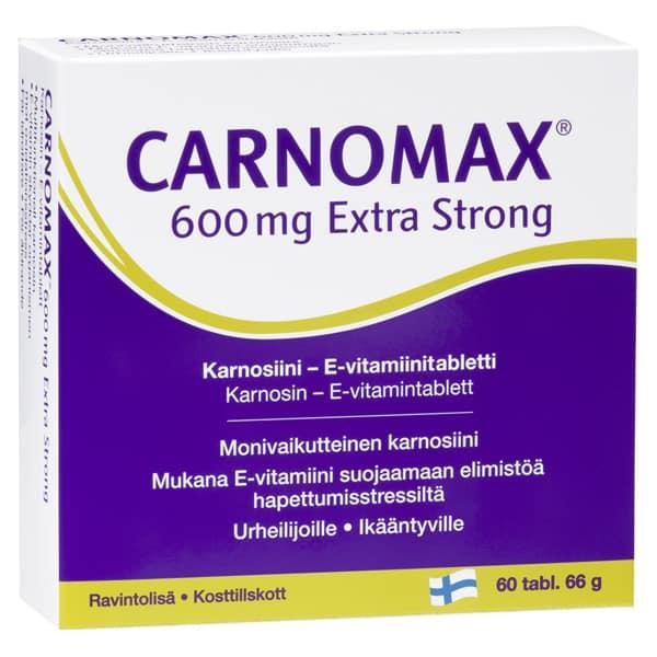 Carnomax 600 Extra Strong 60 tabl