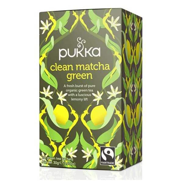 PUKKA Clean Matcha Green tee 20 pss