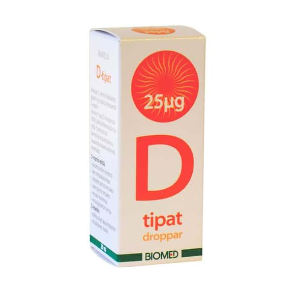 D-tipat 25 µg 20 ml - Biomed
