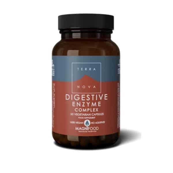 Digestive Enzyme complex 50 kaps. Terra Nova