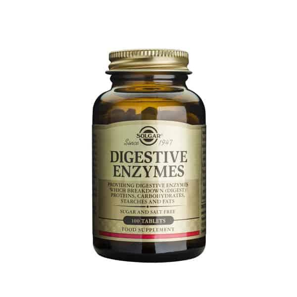Digestive enzymes 100tbl solgar