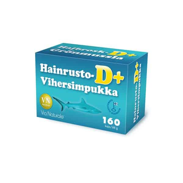 Hainrusto+Vihersimpukka D+ 160 + 80 kaps - Via Naturale