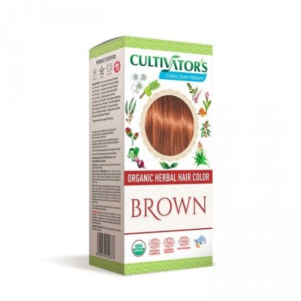 Kasvihiusväri Brown 100g - Cultivators