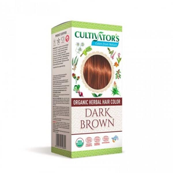 Kasvihiusväri Dark Brown 100g - Cultivators