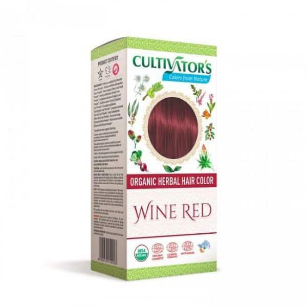 Kasvihiusväri Wine Red 100g - Cultivators