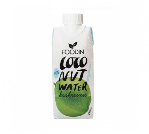 Kookosvesilaatikko 12x330ml Foodin
