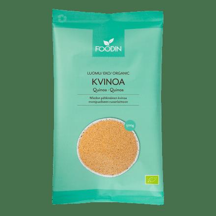Kvinoa luomu raaka 500g FOODIN