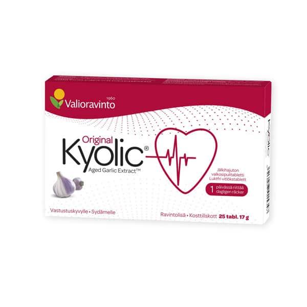 Kyolic 25 tablettia - Bertil`s Health