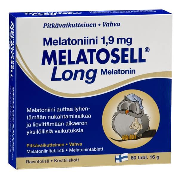 Melatosell Long 1,9mg 60 tabl.