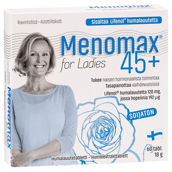 Menomax for ladies 45+ 60tab 18g
