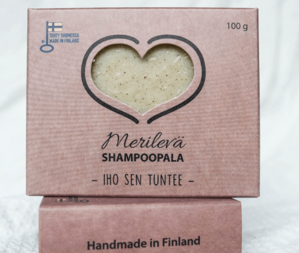 Merilevä shampoopala 100g