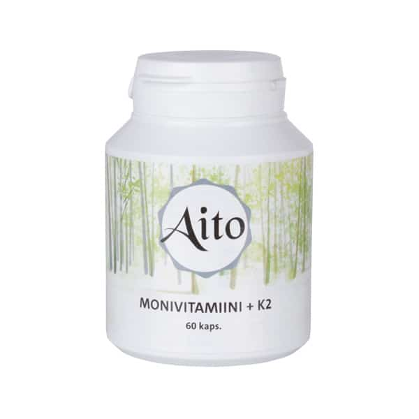 Aito Monivitamiini +K2 60 kaps