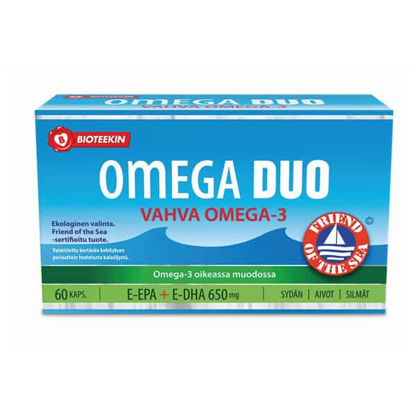 Omega Duo 60 kaps - Bioteekki