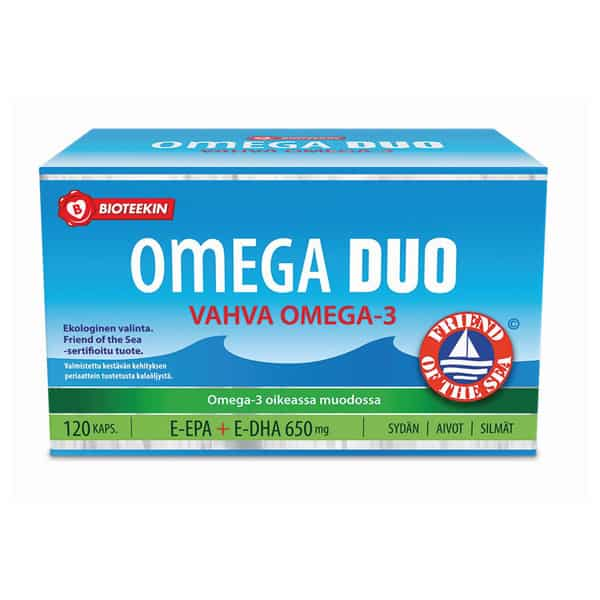 Omega Duo 120 kaps - Bioteekki