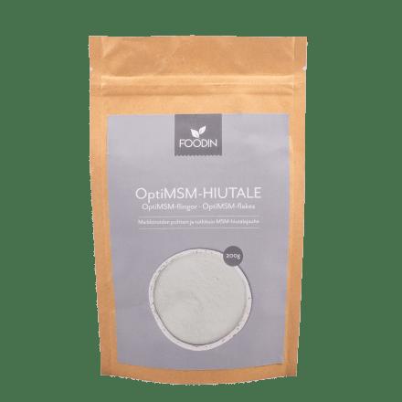 Opti-MSM-hiutale Foodin 200g