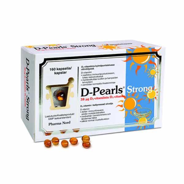 D-Pearls Strong 38ug 160 kaps - Pharma Nord