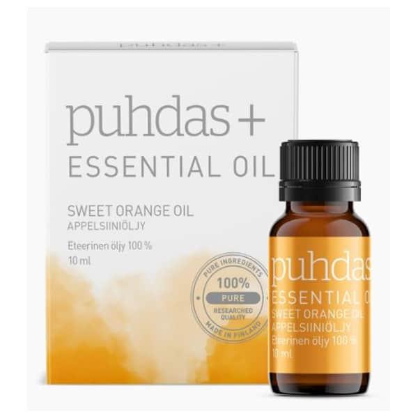 Sweet Orange Essential Oil 10ml - Puhdas+