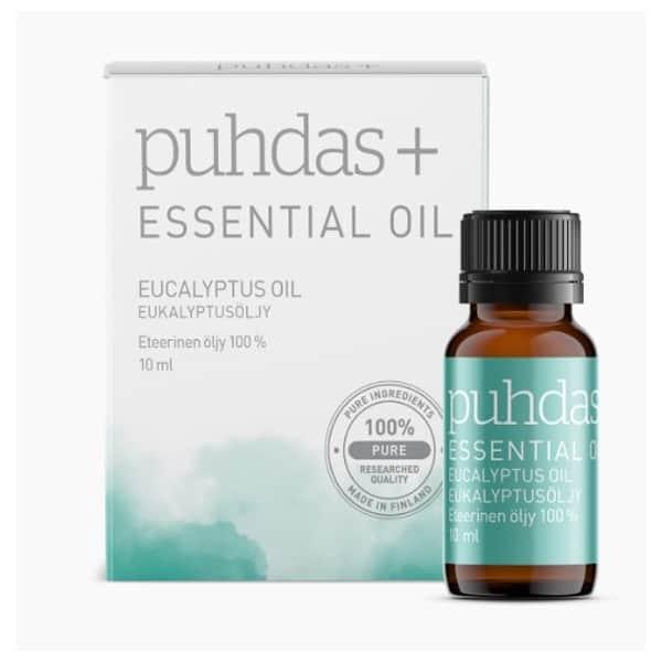 Eucalyptus Essential Oil 10ml - Puhdas+