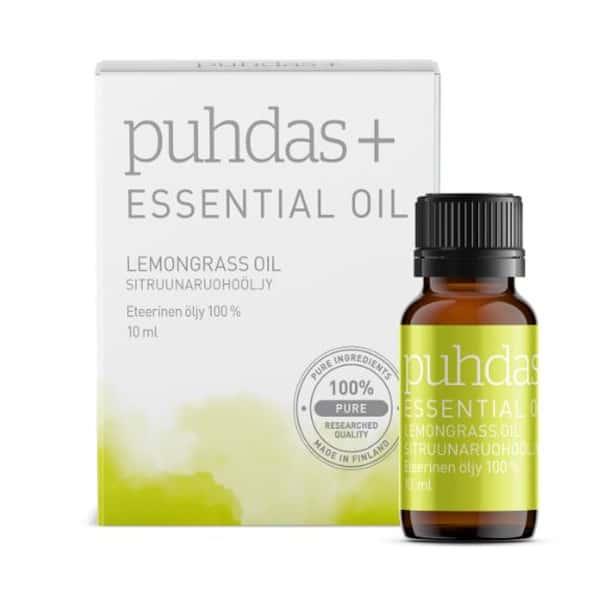 Lemongrass Essential Oil 10ml - Puhdas+