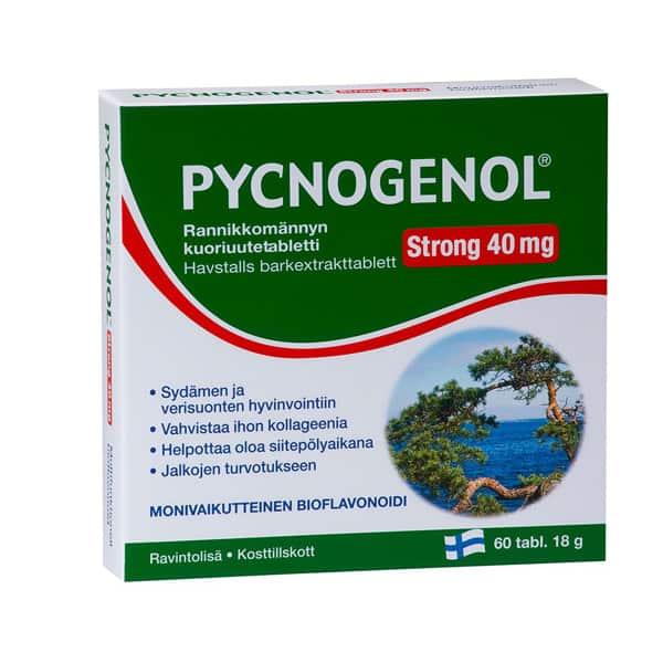 Pycnogenol Strong 40 mg 60 tabl - Hankintatukku