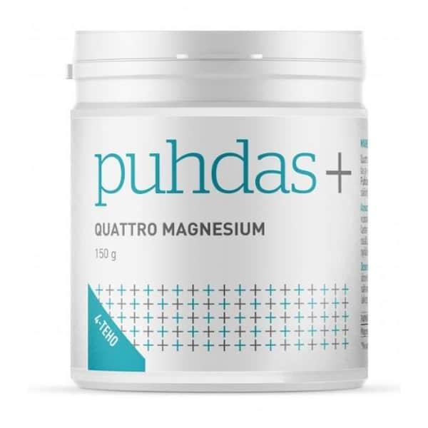 Quattro magnesium 150g - Puhdas+