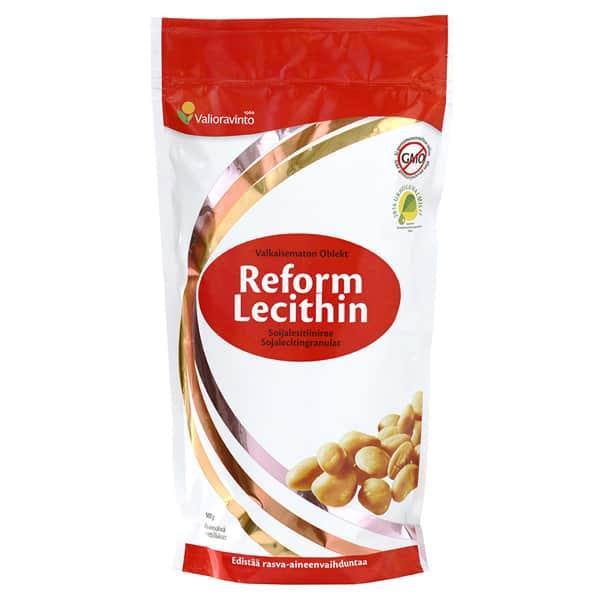 Reform Lecithin Soijalesitiinirae 500g - Valioravinto