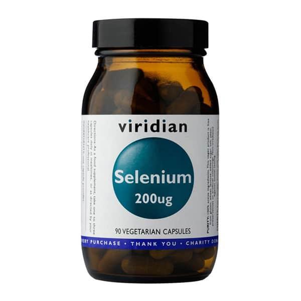 Viridian Selenium 200 µg 90 kaps