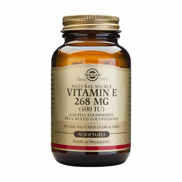 E-vitamiini 268mg 50 softgels - Solgar