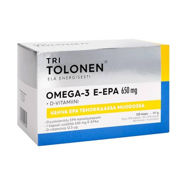 Tri Tolosen E-EPA 650 mg 120 kaps - Midsona