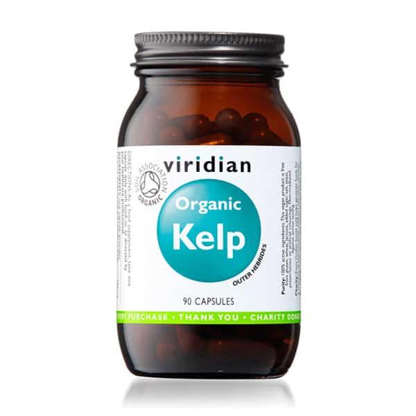 Viridian Organic Kelp 90 kaps