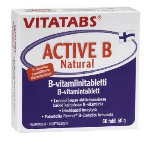 Vitatabs Active B Naturel 60 tabl.