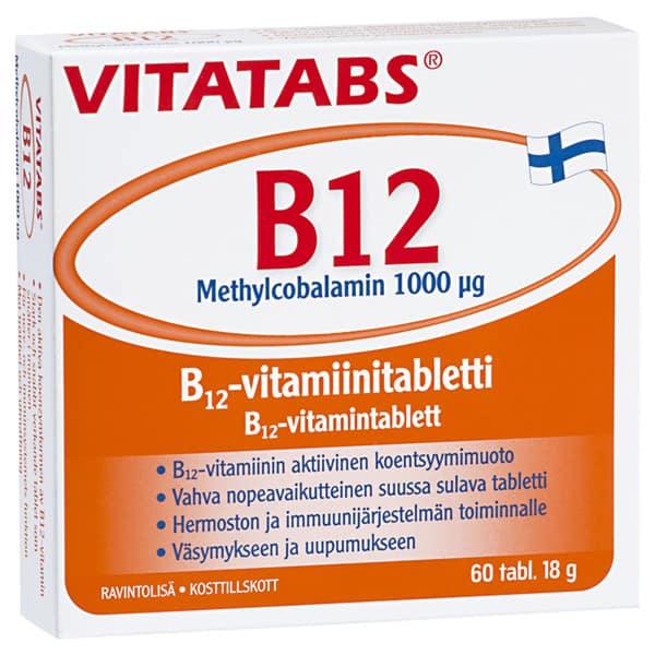 Vitatabs B12 1000mcg 60 tabl.
