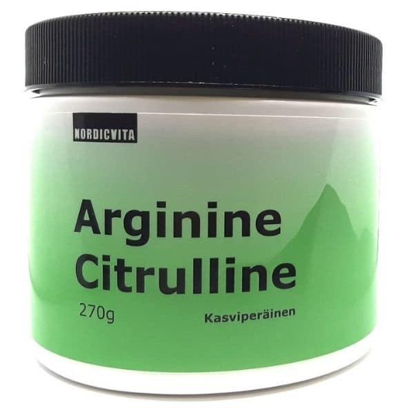 Arginiini Sitruliini 270g - Nordicvita